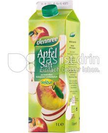 Produktabbildung: dennree Apfelsaft naturtrüb 1 l