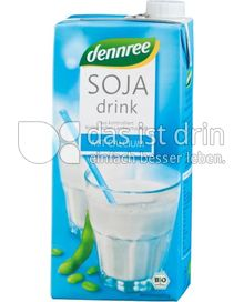 Produktabbildung: dennree Sojadrink mit Calcium 1 l