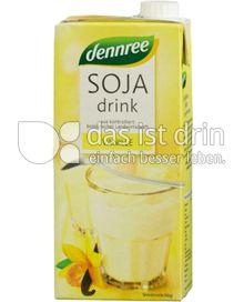 Produktabbildung: dennree Sojadrink Vanille 1 l