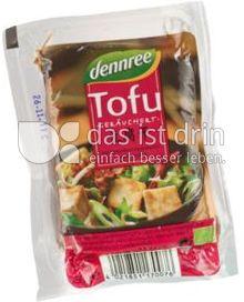 Produktabbildung: dennree Tofu geräuchert 250 g