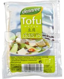 Produktabbildung: dennree Tofu Natur 300 g