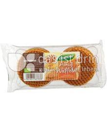 Produktabbildung: dennree Honig-Waffeln 175 g