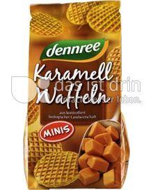 Produktabbildung: dennree Mini-Karamellwaffeln 150 g