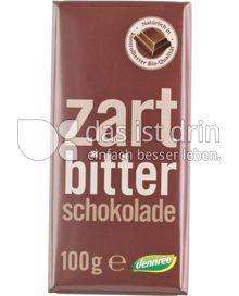Produktabbildung: dennree Zartbitterschokolade 100 g