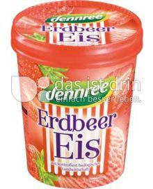 Produktabbildung: dennree Erdbeer-Eis 500 ml