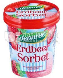 Produktabbildung: dennree Erdbeer-Sorbet 500 ml