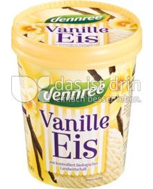 Produktabbildung: dennree Vanille-Eis 500 ml