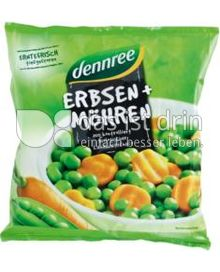 Produktabbildung: dennree Erbsen und Möhren 450 g