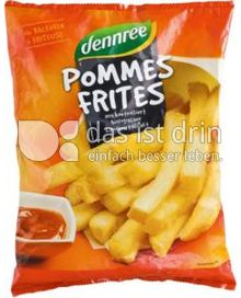 Produktabbildung: dennree Pommes Frites 600 g