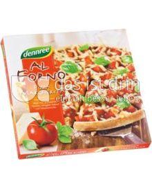 Produktabbildung: dennree Al Forno Pizza Margherita 335 g