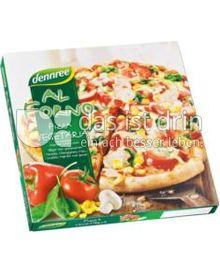Produktabbildung: dennree Al Forno Pizza Vegetaria 350 g