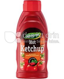 Produktabbildung: dennree Hot-Ketchup 500 ml
