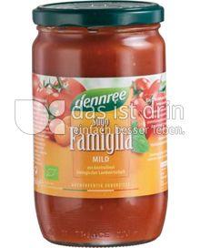 Produktabbildung: dennree Sugo Famiglia 660 g