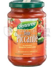 Produktabbildung: dennree Sugo Piccante 340 g