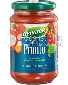 Produktabbildung: dennree Sugo Pronto 340 g