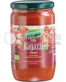 Produktabbildung: dennree Sugo Ragazzi 660 g