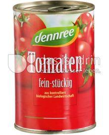 Produktabbildung: dennree Tomaten fein-stückig 400 g