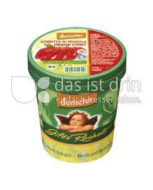 Produktabbildung: Gildo Rachelli Erdbeer Sorbet Familienbecher Rachelli 500 ml
