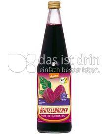 Produktabbildung: Beutelsbacher Rote Bete-Direktsaft erntefrisch 0,7 l