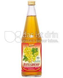 Produktabbildung: Beutelsbacher Traubensaft Weiß Chardonnay 0,7 l