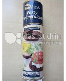 Produktabbildung: Korn Mühle Party Pumpernickel 250 g