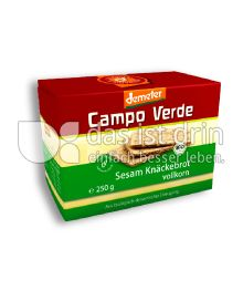 Produktabbildung: Campo Verde Bio Sesam-Knäckebrot 250 g