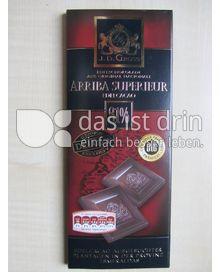 Produktabbildung: J. D. Gross Arriba Supererieur Edelcacao 81 % 125 g