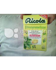 Produktabbildung: Ricola Zitronenmelisse 50 g