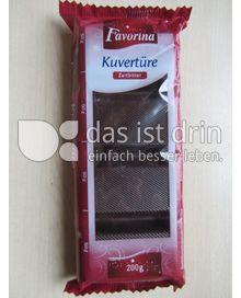 Produktabbildung: Favorina Kuvertüre Zartbitter 200 g