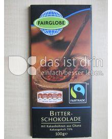 fairglobe bitter schokolade 70 534 0 kalorien kcal und inhaltsstoffe das ist drin. Black Bedroom Furniture Sets. Home Design Ideas
