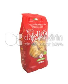 Produktabbildung: felicia bio Vollkornreis Penne 250 g