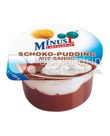 Produktabbildung: Minus L Laktosefreier Schoko-Pudding mit Sahne 125 g