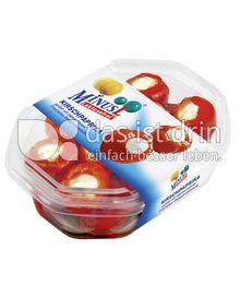 Produktabbildung: MinusL Kirschpaprika gefüllt mit laktosefreiem Frischkäse Doppelrahmstufe 150 g