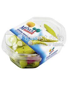 Produktabbildung: MinusL Grüne Peperoni gefüllt mit laktosefreiem Frischkäse Doppelrahmstufe 150 g