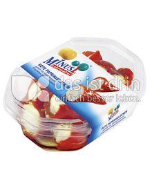 Produktabbildung: MinusL Rote Paprikaglocken gefüllt mit laktosefreiem Frischkäse Doppelrahmstufe 200 g