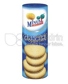 Produktabbildung: MinusL Laktosefreie Schoko Doppelkekse 300 g