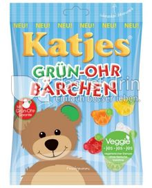 Produktabbildung: Katjes Grün-Ohr Bärchen 200 g