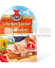 Produktabbildung: Schinkenspicker Bunte Paprika-Lyoner 80 g