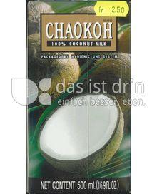 Produktabbildung: CHAOKOH 100% Coconut Milk / Kokosnussmilch 500 ml