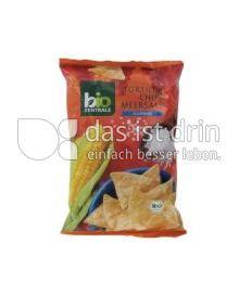 Produktabbildung: bio Zentrale Tortilla Chips Meersalz 125 g