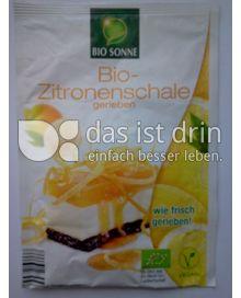 Produktabbildung: Bio Sonne Bio-Zitronenenschale 15 g