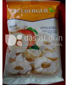 Produktabbildung: Seeberger Apfelringe 80 g