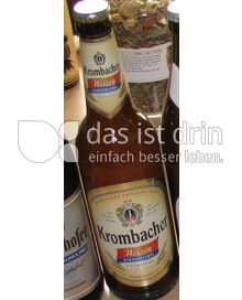 krombacher weizen alkoholfrei 31 0 kalorien kcal und inhaltsstoffe das ist drin. Black Bedroom Furniture Sets. Home Design Ideas