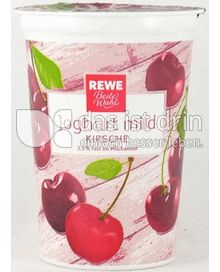 Produktabbildung: Rewe Beste Wahl Joghurt mild Kirsche 250 g
