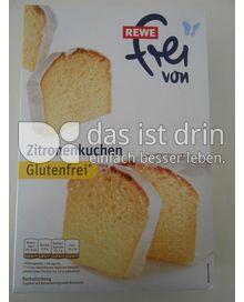 Rewe Frei Von Zitronenkuchen Glutenfrei 405 0 Kalorien Kcal Und