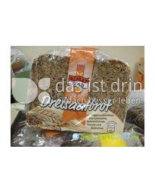 Produktabbildung: Mühlengold Dreisaatbrot 500 g