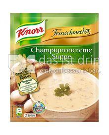 Produktabbildung: Knorr Feinschmecker Champignoncreme Suppe 0,5 l