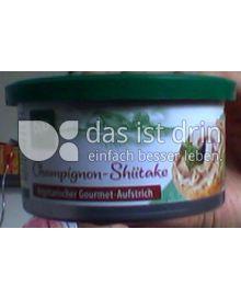Produktabbildung: Vegetarischer Gourmet-Aufstrich Champignon-Shiitake 125 g
