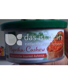 Produktabbildung: Vegetarischer Gourmet-Aufstrich Paprika-Cashew 125 g