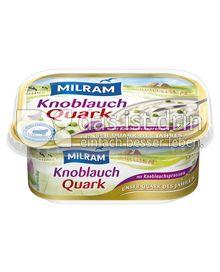Produktabbildung: MILRAM Knoblauchquark 200 g
